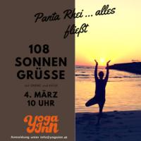 108 Sonnengrüße am So, 04.03.2018
